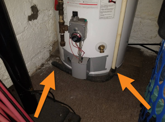 Defect Spotlight – TPR Discharge Pipe Not Visible
