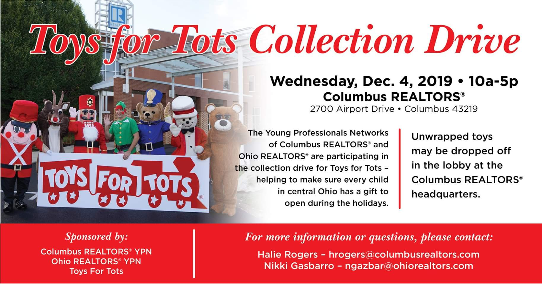 Columbus YPN Toys for Tots Drive