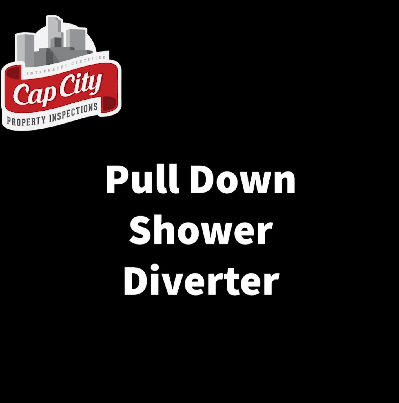 Pull Down Shower Diverter